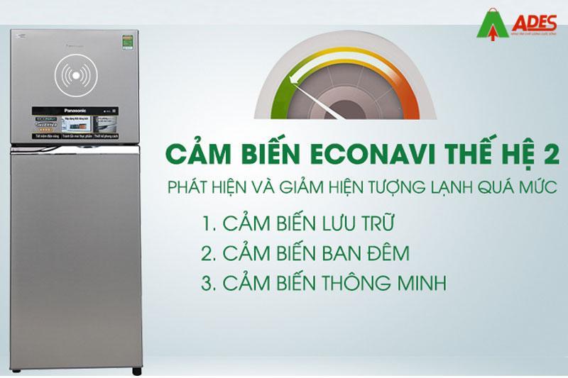 Cam bien Econavi giup nhiet do duoc dieu chinh phu hop
